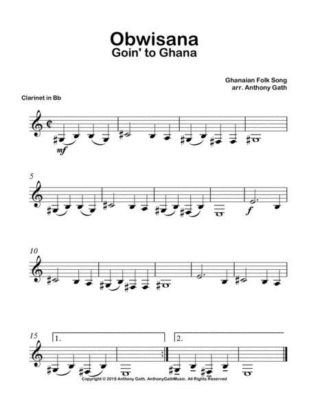 Obwisana - Solo Clarinet