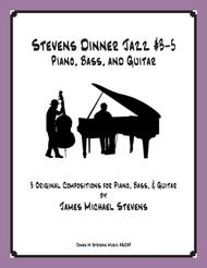 Stevens Dinner Jazz Piano and Bass - #3-5 Book
