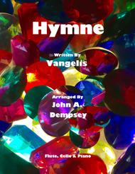 Hymne (Vangelis): Trio for Flute, Cello and Piano