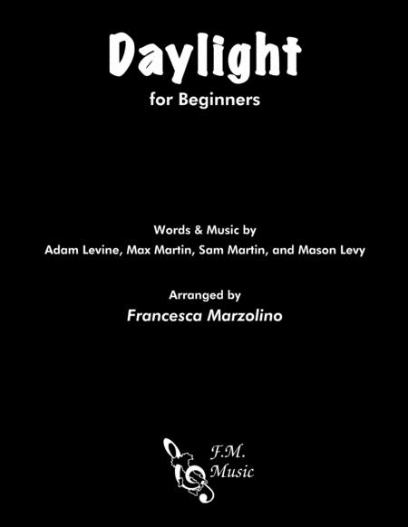 Daylight (for Beginners)