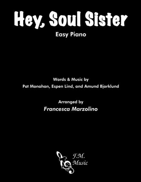 Hey, Soul Sister (Easy Piano)