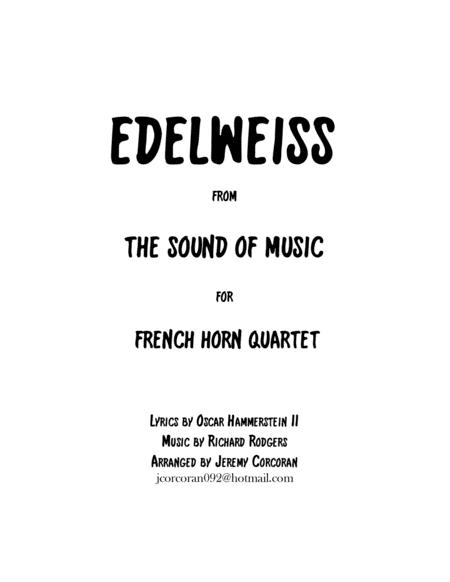 Edelweiss for Four French Horns