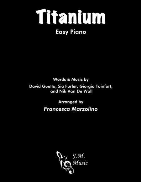 Titanium (Easy Piano)
