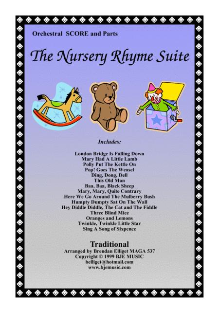 The Nursery Rhyme Suite (No 1) Orchestra Score and Parts PDF