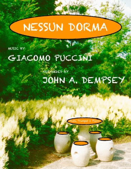 Nessun Dorma (Trio for Flute, Trumpet and Piano)