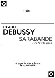 Debussy Sarabande for string orchestra