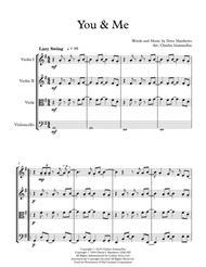 You & Me, Dave Matthews Band - String Quartet