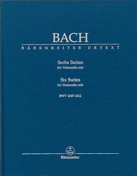 6 Suites for Violincello Solo, BWV 1007-1012