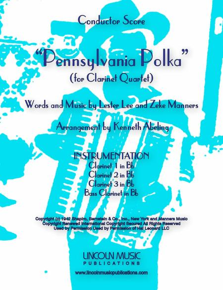 Pennsylvania Polka (for Clarinet Quartet)