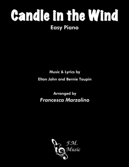 Candle In The Wind (Easy Piano)