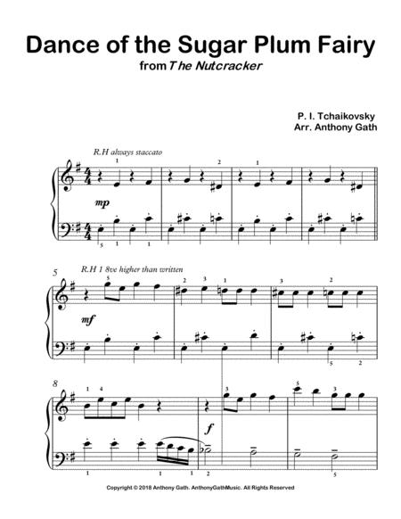 Dance of the Sugar Plum Fairy - from The Nutcracker (easy piano)