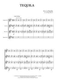Tequila for Saxophone Quartet