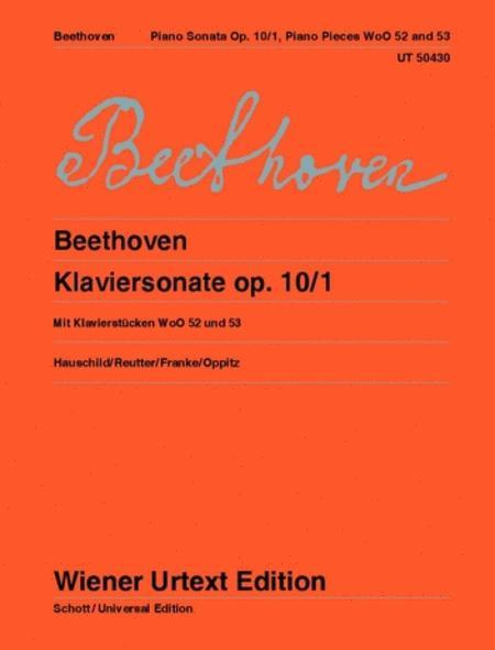 Piano Sonata Op. 10/1