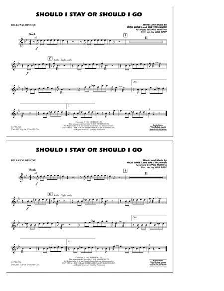 Should I Stay Or Should I Go - Bells/Xylophone