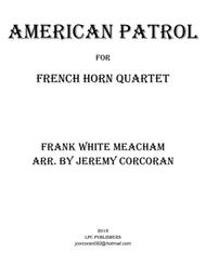 American Patrol for Four French Horns