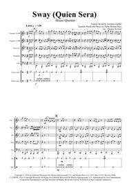 Sway (Quien Sera) - Michael Bublé - Brass Quintet