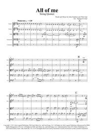All of me - John Legend - String Quintet