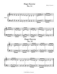 Finger Exercise No. 15 & 16 (Key of C)