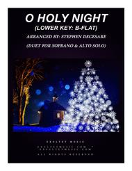 O Holy Night (Duet for Soprano and Alto Solo - Low Key)
