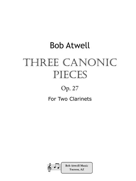 Three Canonic Pieces