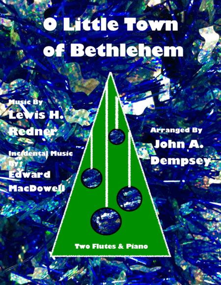 O Little Town of Bethlehem / To a Wild Rose (Trio for Two Flutes and Piano)