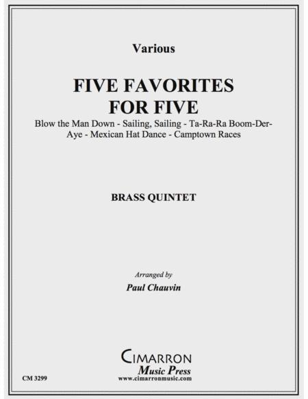 Five Favorites for Five