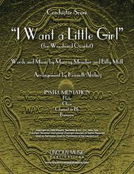 I Want a Little Girl (for Woodwind Quartet)