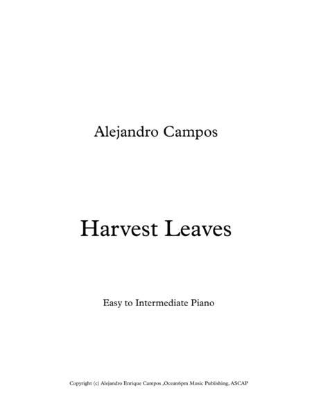 Harvest Leaves