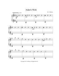 Aiden's Wish (Easy Piano)