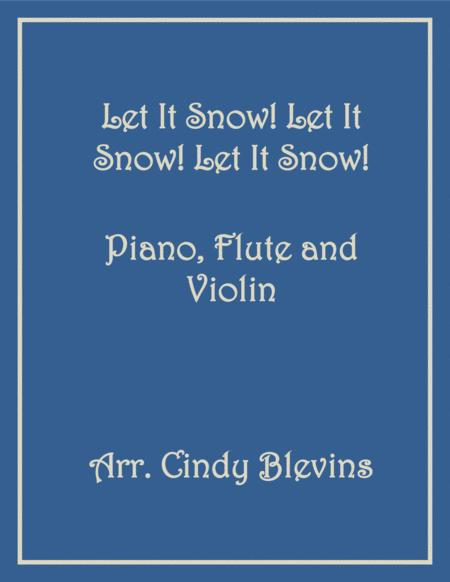 Let It Snow! Let It Snow! Let It Snow! arranged for Flute and Violin