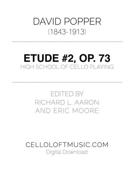 Popper (arr. Richard Aaron): Op. 73, Etude #2