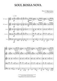 Soul Bossa Nova for Brass Quintet