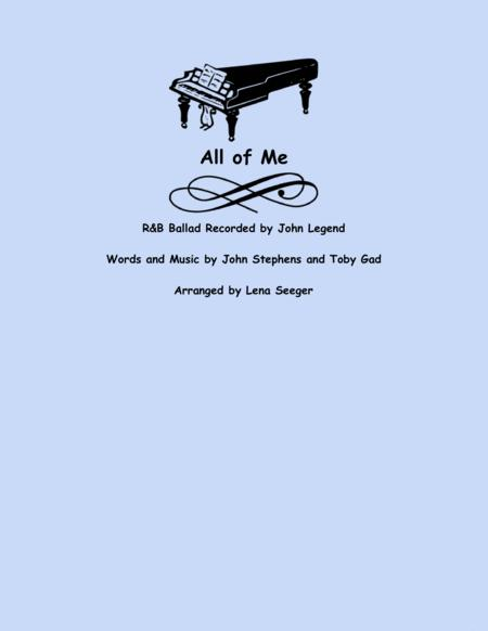 All Of Me (unaccompanied violin)