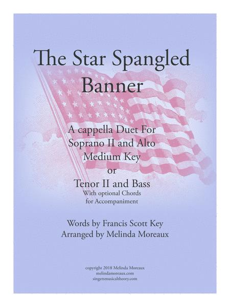 The Star Spangled Banner Duet For Medium Voices