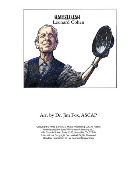 Cohen's Hallelujah for Brass Ensemble