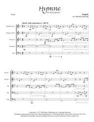 Hymne (Vangelis) for Brass Quintet