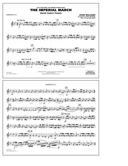 The Imperial March (Darth Vader's Theme) - Baritone T.C.