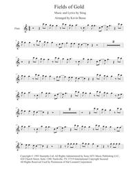 Fields Of Gold Easy Key Of C Flute By Sting Digital Sheet Music For Individual Part Sheet Music Single Solo Part Download Print H0 346957 244535 Sheet Music Plus