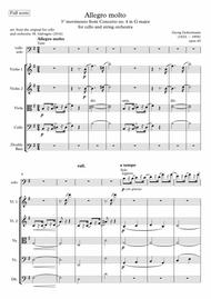 Goltermann - Cello Concerto n°4 op. 65 in G major - 3rd movement - for Cello and String orchestra