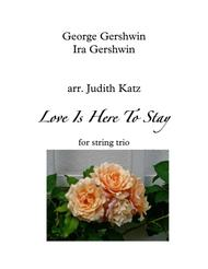 Love Is Here To Stay from GOLDWYN FOLLIES from AN AMERICAN IN PARIS