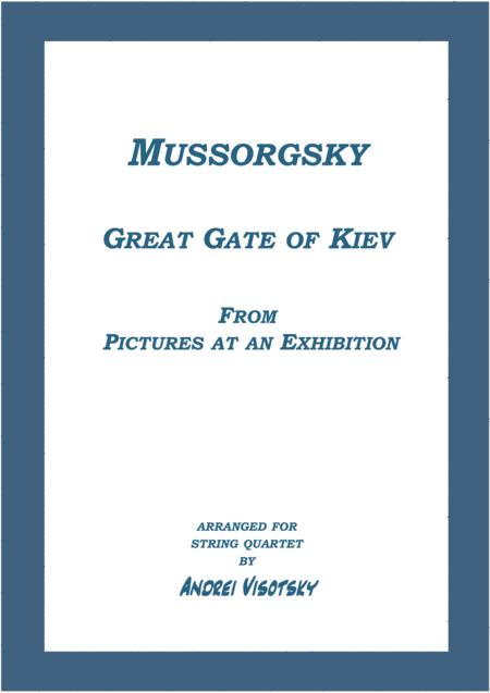 Great Gate of Kiev from Pictures at an Exhibition