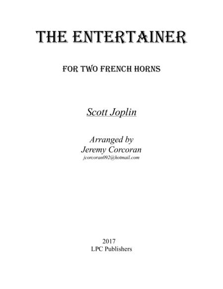 The Entertainer for Two French Horns