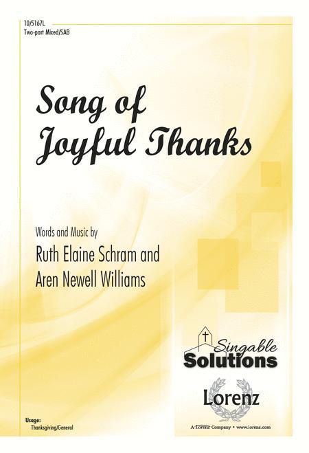 Song of Joyful Thanks