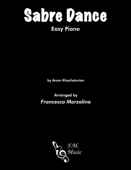 Sabre Dance (Easy Piano)