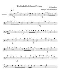3 Trombone Trios - 'Earl of Salisbury's Pavane', 'Sanctus' and 'The Elephant' arr. David Catherwood