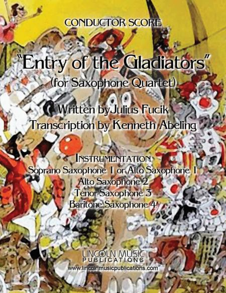 March – Entry of the Gladiators (for Saxophone Quartet SATB or AATB)