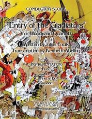 March – Entry of the Gladiators (for Woodwind Quartet)