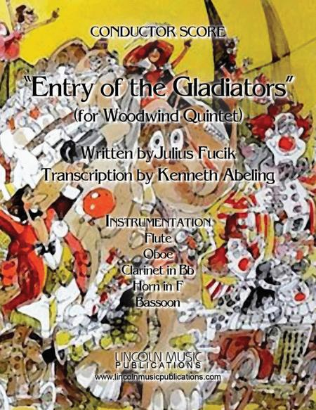 March – Entry of the Gladiators (for Woodwind Quintet)