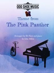 The Pink Panther from THE PINK PANTHER for Eb Horn and Piano