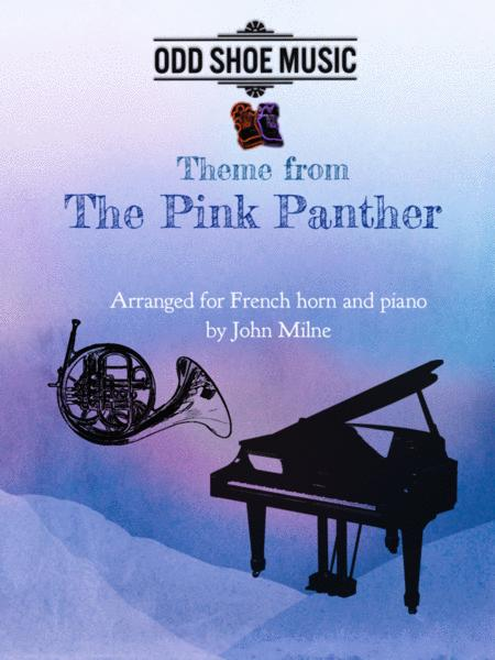 The Pink Panther from THE PINK PANTHER for F Horn and piano